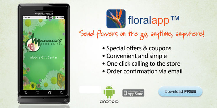 Order flowers anytime, anywhere!