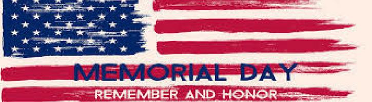 Memorial Day 5/28